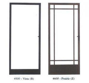 Vista B and prairie Z frame
