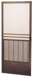 Suntex brown Swinging designs door