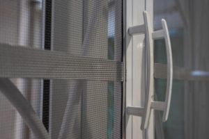 White Custom Screen Door